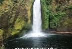 Wahclella Falls Trail hike Columbia River Gorge Oregon