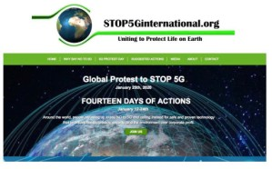 Global Protest to Stop 5G