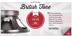 Eminence Vintage Tone Speakers