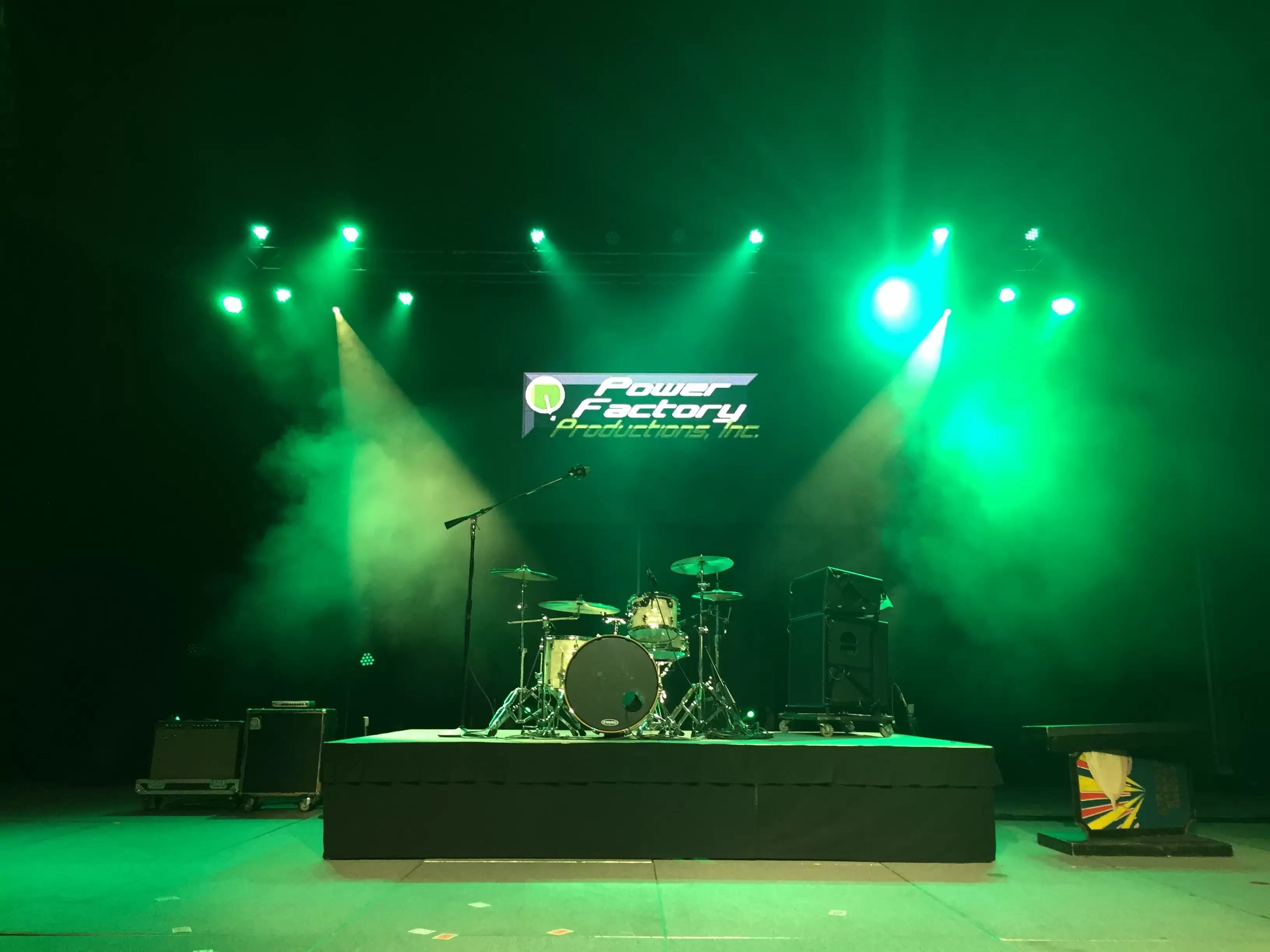 Power Factory Productions Backline Equipment