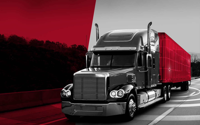 Semi Truck Branded Image