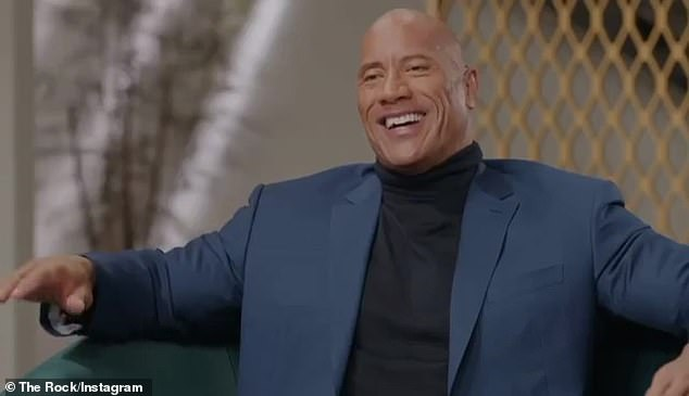 A taste: Dwayne 'The Rock' Johnson shared a teaser of his upcoming sitcom -- Young Rock -- which chronicles his early years before fame and fortune