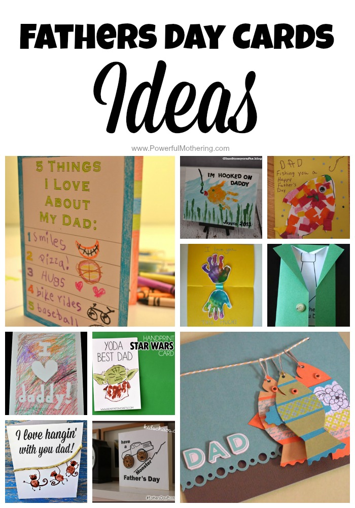 Fathers Day Cards Ideas For Toddlers Amp Preschoolers