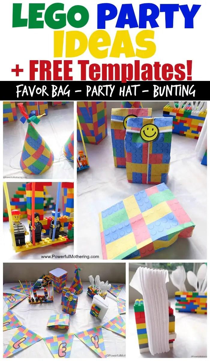lego birthday party ideas and free lego