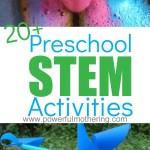 20 Preschool Stem Activities For Engaging And Encouraging Kids