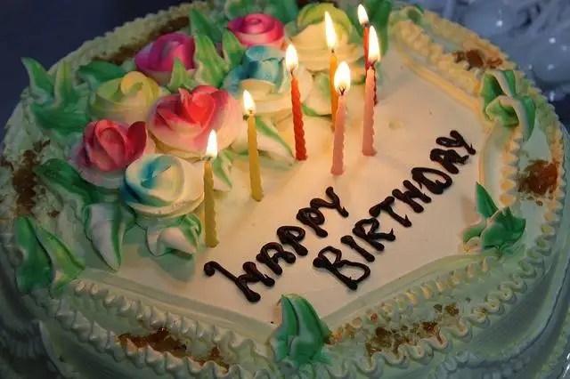 11. Birthday cake