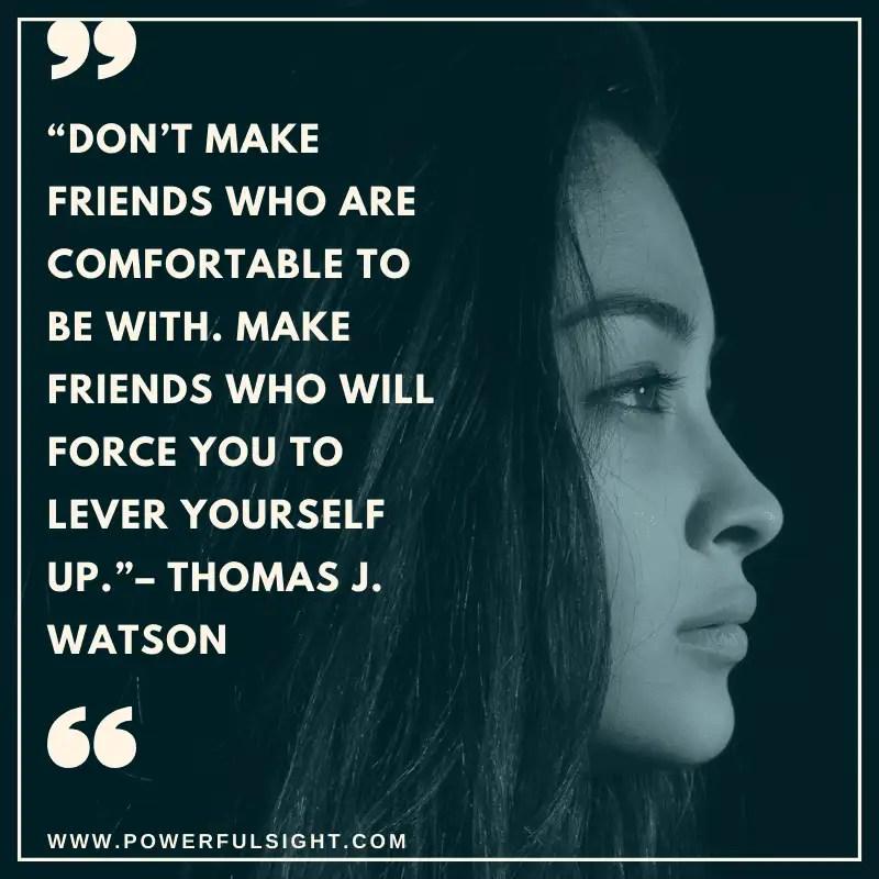 Friendship quote by Thomas J. Watson