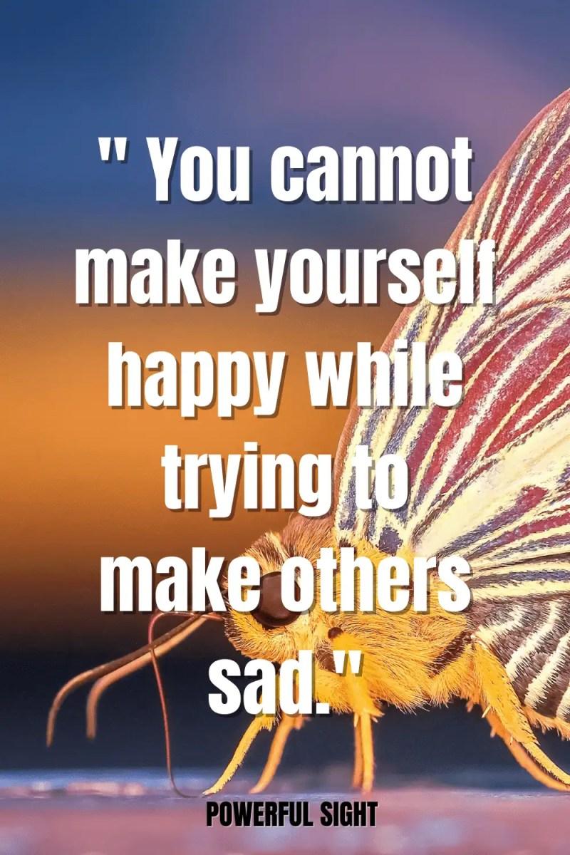 Happiness saying