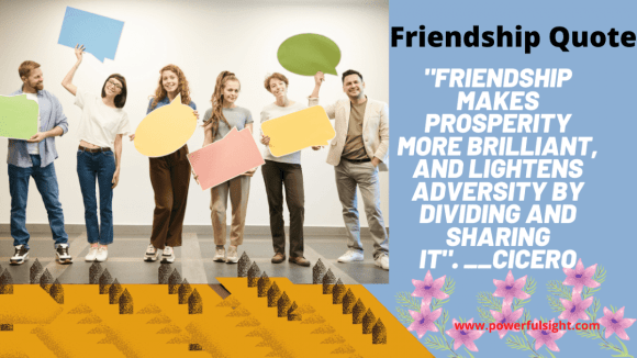 Friendship quote by  Cicero
