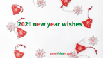 2021 new year wishes for family and friends