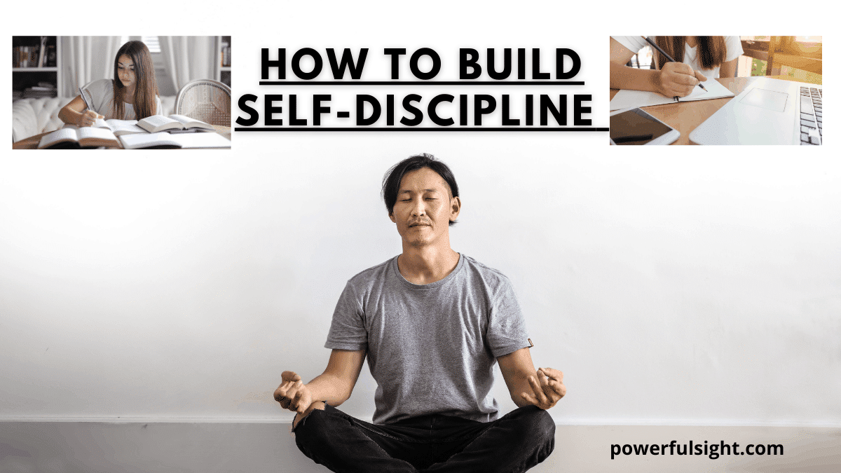 How to build self-discipline