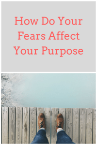 purpose and fears