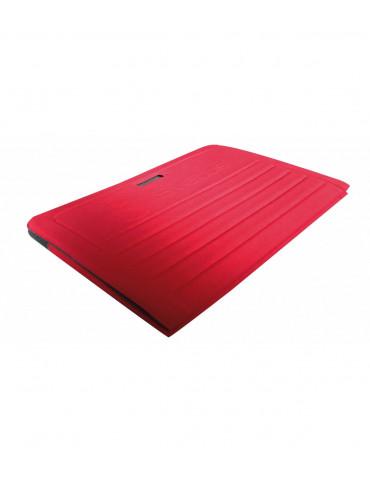 tapis pliable en mousse avec poignees pour fitness et musculation