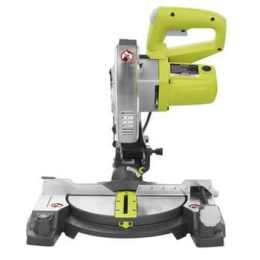 """Factory Reconditioned Ryobi ZRTS1143L 7-1/4"""" Miter Saw with Laser Green"""