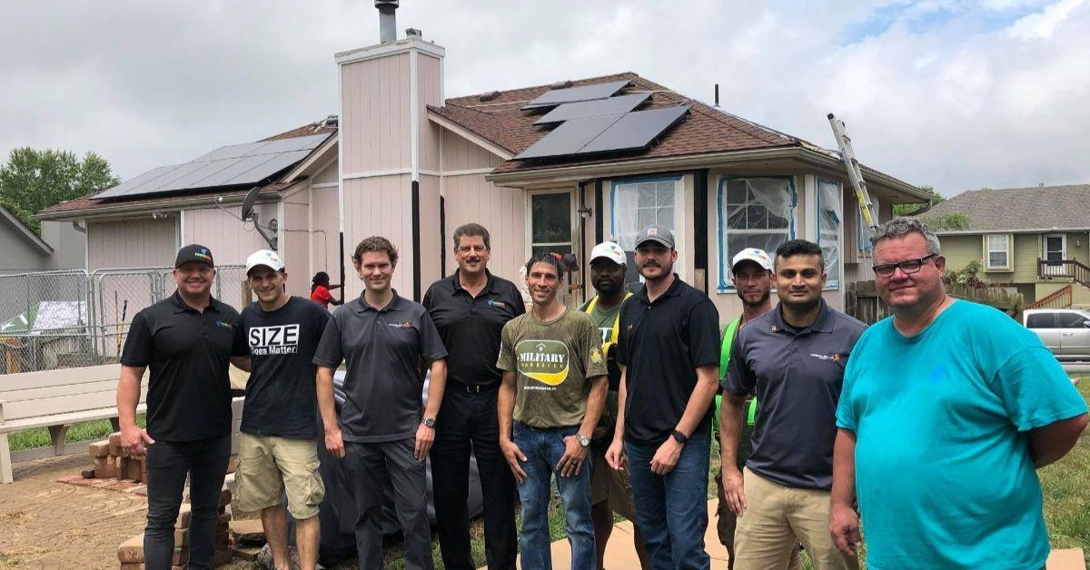 Power Home Solar-Military Makeover-TV show-updates