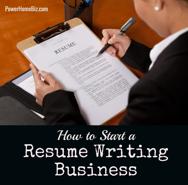 Business Idea  Starting a Resume Writing Service resume writing business