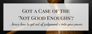 Want Misery? Judge Your Results