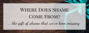 Where Does Shame Come From? (2/3)