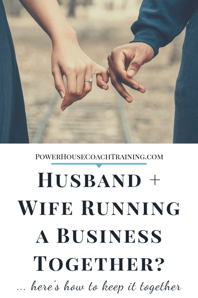 husband and wife running a business together? here's what you need to know