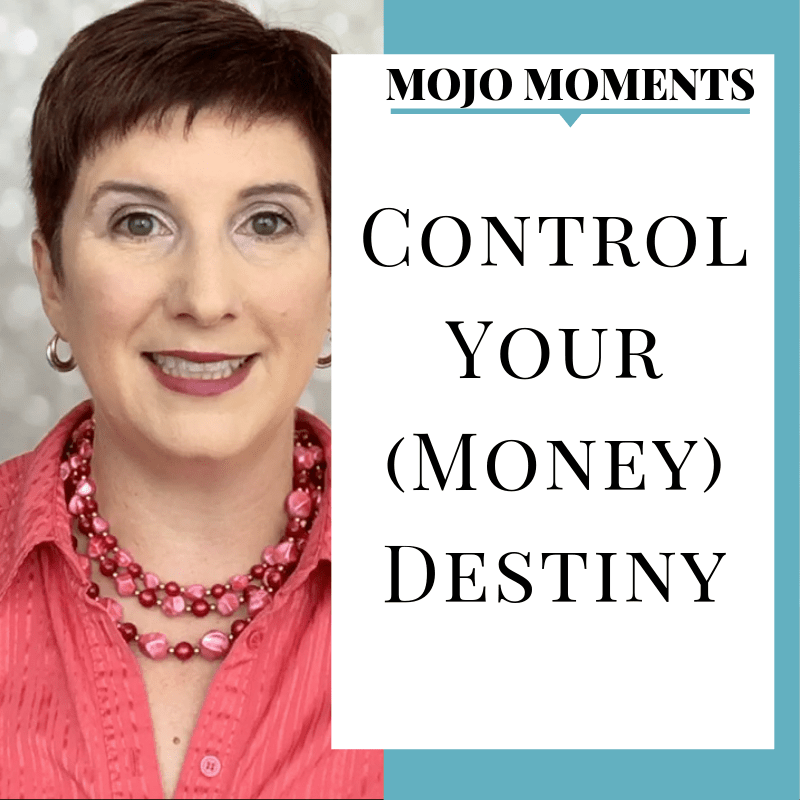 Vanessa Long shows us how to control your money destiny in this week's Mojo Moment