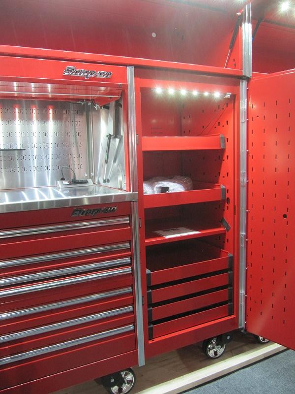 sst led tool storage lights tool box