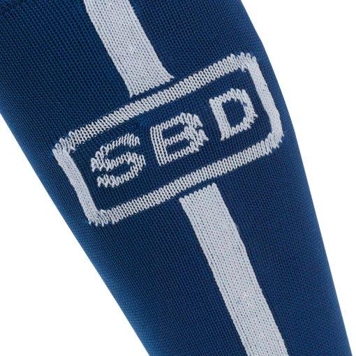 calze stacco sbd blu e bianche