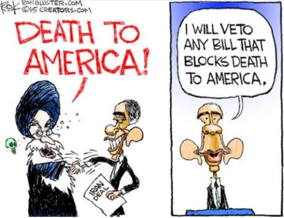 Death to America veto copy