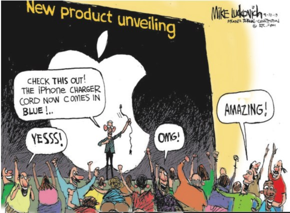 New Apple copy