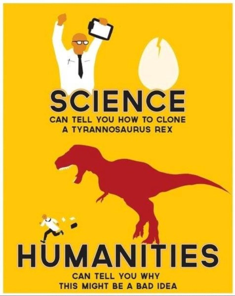 SCIENCE VS HUMANITIES copy