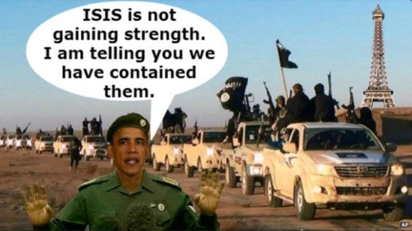 ISIS not gaing strength copy