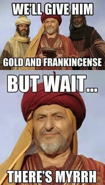 There's Myrrh