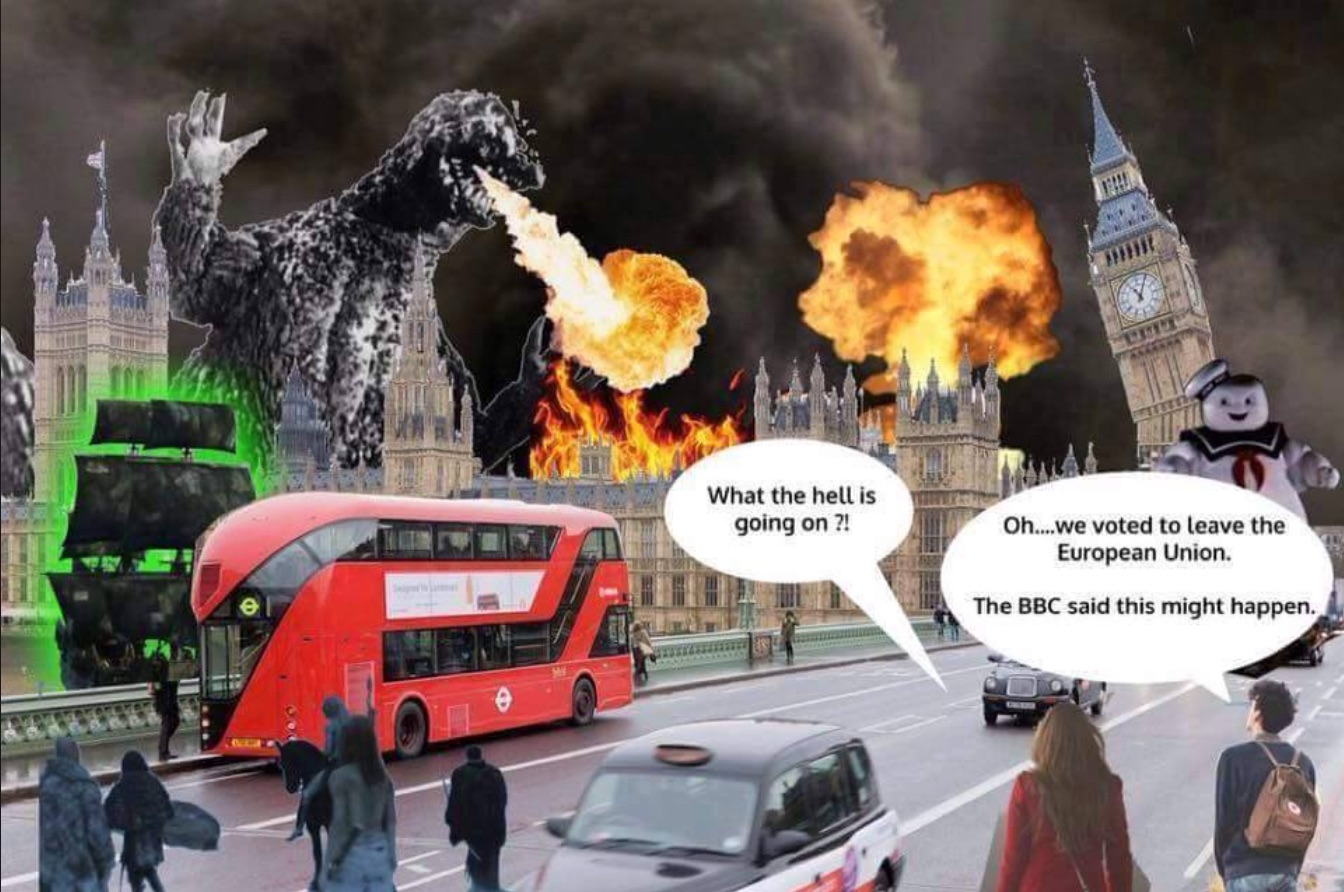 Godzilla Attacks For BrExit