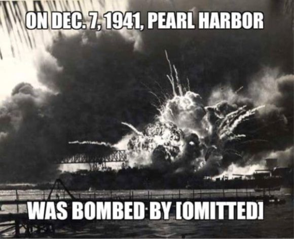 Pearl Harbor Omitted copy