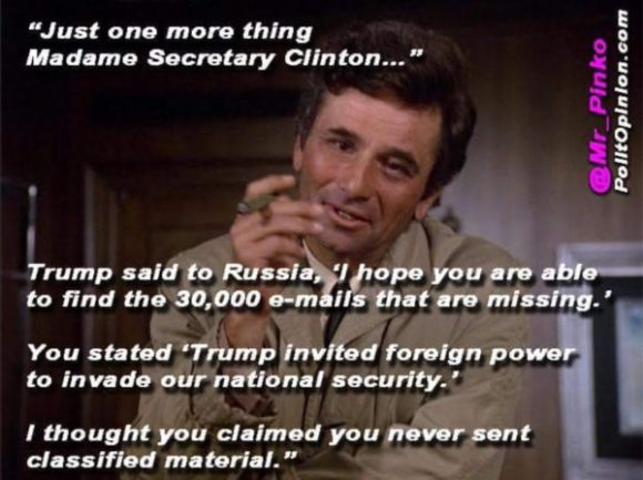 Columbo on Hillary copy