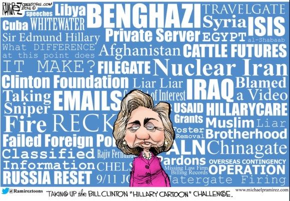 Hillary cartoon challenge copy