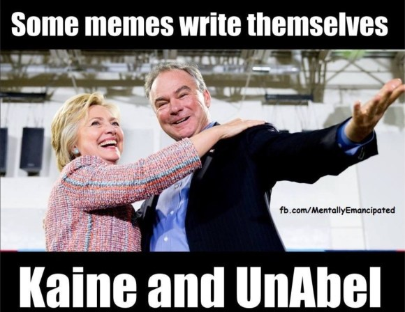 Kaine and Unable copy