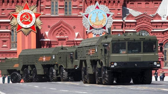 Iskander missile launchers have been deployed on Russia's borders with Poland and Lithuania