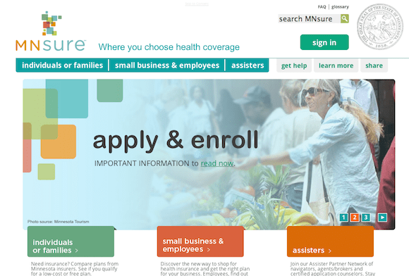 mnsure-website1