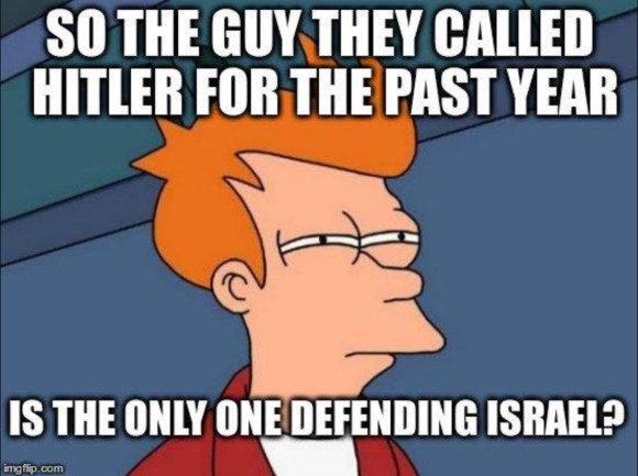 trump-defending-israel