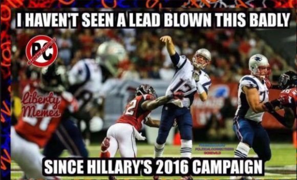 Hillary's Leads