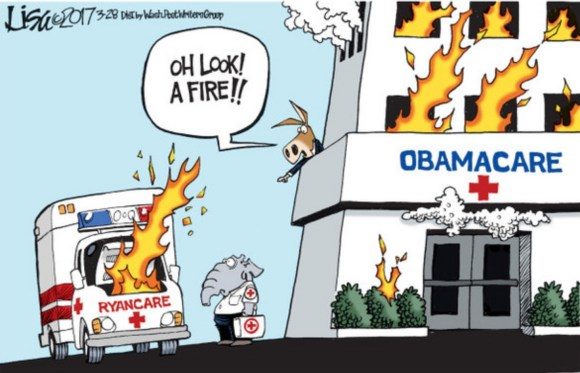Obamacare Fire