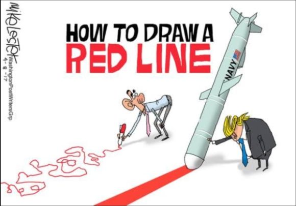 Draw Red Line