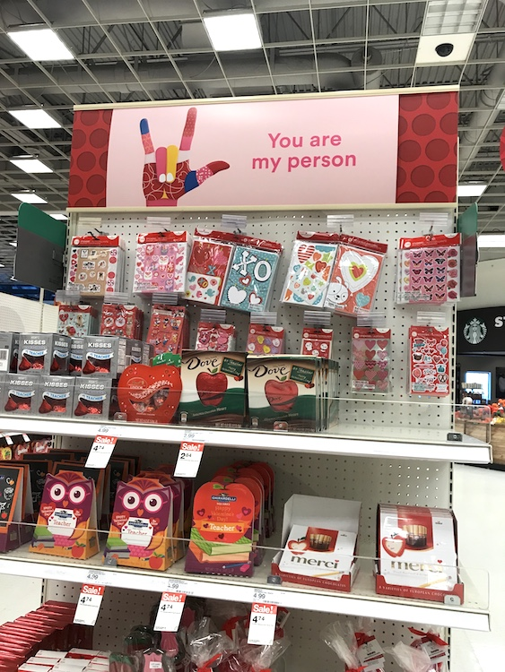 "Target: Happy Valentine's Day To My ""Person!"""