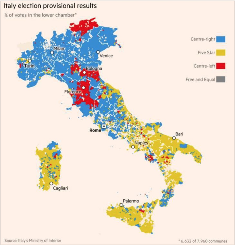 Italian elections, a punishment against the political class