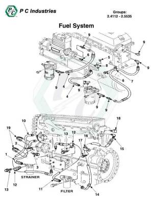 Fuel System  Series 60 Detroit Diesel Engines Catalog