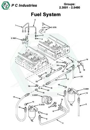 Fuel System  Series 92 Detroit Diesel Engines Catalog Page 85