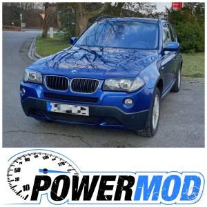 Chiptuning BMW x3 diesel