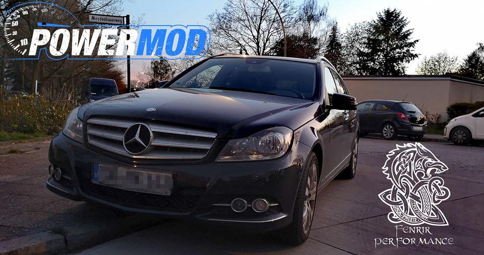 Leistungssteigerung Mercedes W204 BlueTec 2.1
