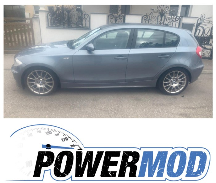 Leistungssteigerung BMW 120D vFl