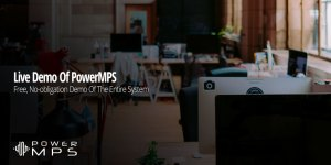 Request a live demo of PowerMPS